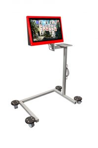 Universal Cart with Touch2Play