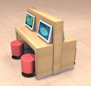 Kidzpace Counter and Stools
