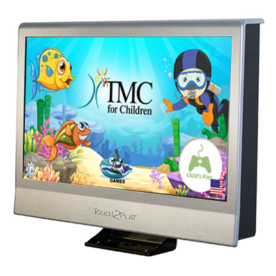 Custom screen Kidzpace Touch2Play Max TMC for Children