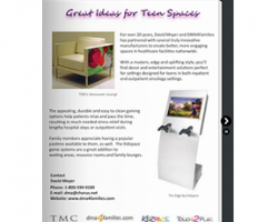 Teen Oncology Spaces Ebrochure Home_Healthcare